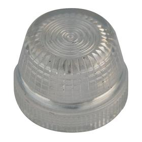 Eaton Pilot Light Lens: 2.93 in Overall Lg, Designed for Most Rugged Industrial Applications, Clear, 18 Haz Material Indicator