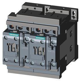 Siemens IEC Contactor: 3 Poles, Single/Three Phase, 12 A Current Rating, 1 hp - Single Phase @ 120V, Reversing