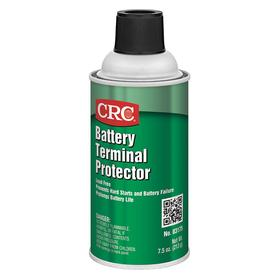CRC Battery Terminal Protector: 12 oz Container Size, 12 oz, Aerosol Can, Liquid, Red