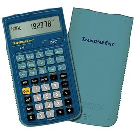 Construction Calculator: 42 Key, 15 Display Digits, 5 11/16 in Lg, 3 in Wd, 5/8 in Dp, Battery Power Source