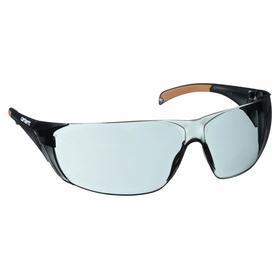 Carhartt Safety Glasses: Gray, Frameless Frame, Scratch Resistant, ANSI Z87.1-2010/CSA Z94.3-2007, Polycarbonate