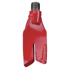 Echo Auger Replacement Blade: Clockwise, Red, 1 in Driveshaft Connection Dia, Powder-Coated, For 938U054