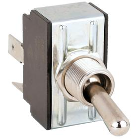 Carling General Duty Toggle Switch: 1/2 in Mounting Hole Dia, 2 Positions, 20 A @ 250V AC Switch Rating (AC), 2 Poles