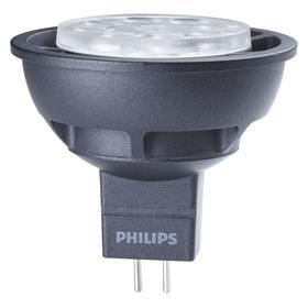 Philips LED Bulb: MR16, GU5.3, Flood, 6.5 W Watt, 410 lm Lumens, Warm White, 2700 K Color Temp, 80 Color Rendering Index