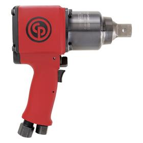 Chicago Pneumatic Pistol Grip Air-Powered Impact Wrench: 1 in Drive Size, Square, Industrial, 4000 RPM Max Speed, NPT