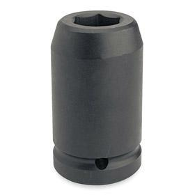 Stanley Proto Impact Socket: Imperial, 1 in Drive Size, 6 Points, 1 1/2 in Socket Size, 4 in Overall Lg, 2.375 in OD