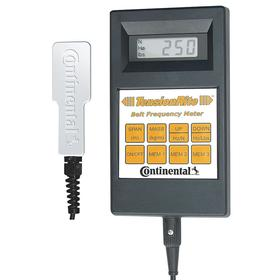 TensionRite Belt Frequency Meter: For All Belt Types/Rubber Compound Belts, Aluminum, Black, CE Certified/SI Units