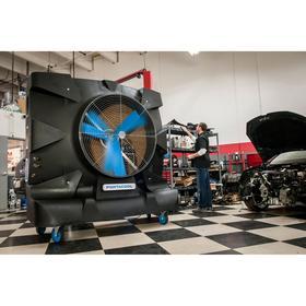 Portable Evaporative Cooler: 6250 sq ft Estimated Cooling