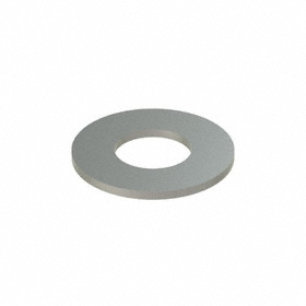 Narrow Flat Washer: 18-8 Stainless Steel, For 9/16 in Screw Size, 0.594 in ID, 1.25 in OD, 0.071 in Thickness, 5 PK