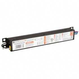 GE Fluorescent Ballast: For Fluorescent, Electronic, Instant, (1) F96T8 at 62 W/(2) F96T8 at 105 W/(2) F96T8 at 107 W