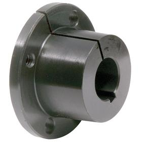 Quick Disconnect Bushing: Inch, QT Bushing Size, 5/8 in Bore Dia, 1 1/4 in Overall Lg, 1/4 in Flange Thickness