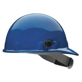 Honeywell Safety Hard Hat: Tab Lock, With Side Slots, ANSI Impact Type Rating I, ANSI Electrical Class Rating C/G, Blue