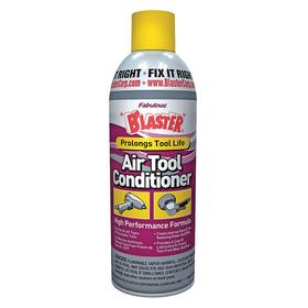 Blaster Metal Cleaner & Polisher: Pneumatic Tool Parts, 11 oz Size, Aerosol Can, Solvent, Red, Ready to Use, CBF, Spray