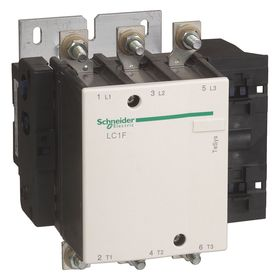 Schneider Electric IEC Contactor: 3 Poles, Three Phase, 265 A Current Rating, 75 hp - Three Phase @ 240V, Reversing