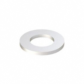 Bonded Sealing Washer: Steel, Neoprene, For 5/8 in Screw Size, 0.65 in ID, 1.188 in OD, 0.098 in Thickness, 10 PK