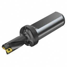 Sandvik Coromant Indexable-Tip Drill Bit: 21 mm Drill Dia, 04 Seat Size, 2xD Dp x Dia Ratio, 42.0 mm Max Drilling Dp