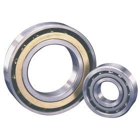 Angular Contact Ball Bearing: Open, Steel, Metric, 40° Contact Angle, 7202 Bearing Trade, 15 mm Bore Dia, 35 mm OD