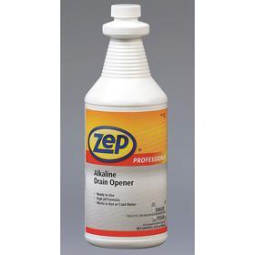Zep Professional Drain Opener: 32 fl oz Size, Bottle
