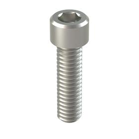 "Socket Cap Screw: 18-8 Stainless Steel, 5/16""-18 Thread Size, 1 1/8 in Shank Lg, Fully Threaded, 0.312 in Head Ht, 50 PK"
