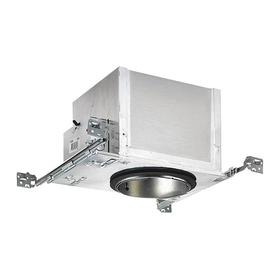 Recessed Light for New Construction: 5 in Nominal Aperture Dia, 13 1/2 in Overall Wd, 4 7/8 in Overall Ht, 900 lm, 3500 K Color Temp