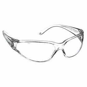 Decade Safety Glasses: Clear, Full Frame, Scratch Resistant, ANSI Z87.1-2010: ANSI Z87.1+, Polycarbonate