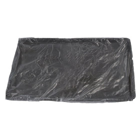 Pan Liner: 20 1/2 in Wd, Oven-Safe Pan Liner, Clear, Nylon, For Bun Sheet, 28 1/2 in Lg, 2 1/2 in Dp, 100 PK