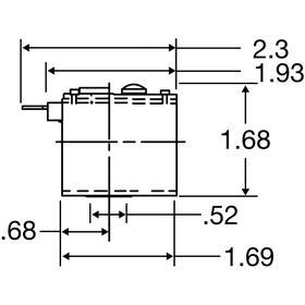 Valve Coil: Spade Terminal, Carbon Steel, 12 W Watt, 24V AC, F Coil Insulation Class, 23 VA Inrush VA, 19 VA Holding VA