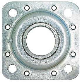 Agricultural Disc Bearing: Inch, Round, 1 3/4 in Bore Size, 5 in Bolt Circle Dia, 7050 lb Dynamic Load Capacity