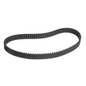 Timing Belt: 189014M115 Industry, Neoprene, Fiberglass, 115 mm Overall Wd, 1890 mm Pitch Lg, 135 Teeth, Black