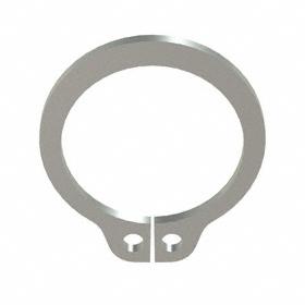 External Retaining Ring: Stainless Steel, Plain, SH-37 Ring, For 3/8 in Shaft Dia, For 0.352 in Groove Dia, 10 PK