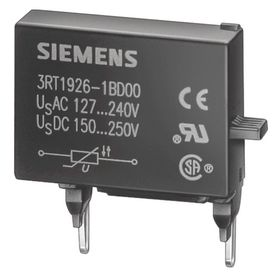 Siemens Surge Suppressor: 24V DC, For 3RT1, S2-S3 Frame Contactors, 85363010 Commodity, DC Current Type, Diode Assembly