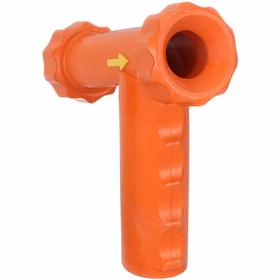 Columbia Water Supply Nozzle Cover: Insulated Rubber, Heavy-Duty, Safety Orange, Insulated Cover, (1) Repl Cover