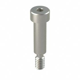 Precision Shoulder Screw: 18-8 Stainless Steel, Hex Socket, 1/4 in Shoulder Dia, 10-24 Thread Size, 3/4 in Shoulder Lg, 5 PK