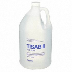 Electrode Filling Solution: Fluoride, TISAB II for Fluoride Electrode, 3800 mL Container Size