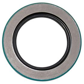 Rotary Shaft Seal: 5/8 in ID (Fits Shaft Dia), Steel, Nitrile Rubber, 5/8 in ID, 1 1/8 in OD, 1/4 in Overall Wd, 2 Lips