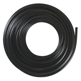 Polypropylene Tubing: For Fluid/Gases/Liquids, Black, 3/8 in ID, 1/2 in OD, 0.063 in Wall Thickness, 100 ft Overall Lg
