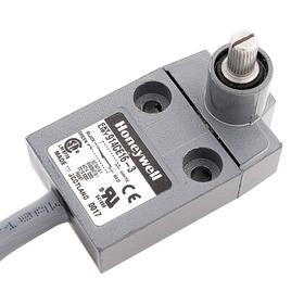 Honeywell Rotary Head Miniature Limit Switch: Zinc, 1NO/1NC Pole-Throw Configuration, 5 A @ 240V AC Current Rating, 1.93 in Overall Ht