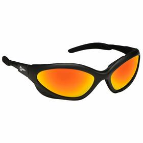 Welding Safety Glasses: Wraparound Frame, Shade 5.0, Reflective/Scratch Resistant, Black, ANSI Z87.1+