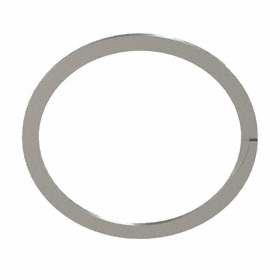 Spiral External Retaining Ring: Stainless Steel, WSM-350 Ring, For 3 1/2 in Shaft Dia, For 3.316 in Groove Dia