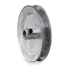 V-Belt Pulley: 3L/4L/A Belt Section Size, For 3L-Section & A-Section (4L, A & AX), 5/8 in Bore Dia, Solid, 3 in OD