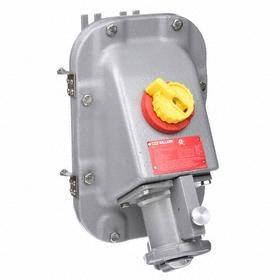 NEMA 4X Mechanical Interlock Device: 4 Poles, 3 Wires, 600V AC, 60 A Current, Three Phase, 30 hp Horsepower