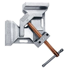Corner Clamp: Adj Angle Type, 90° Max Clamping Angle, 4 3/4 in Max Opening Capacity, 9 1/2 in Throat Dp, 2 1/2 in Jaw Ht