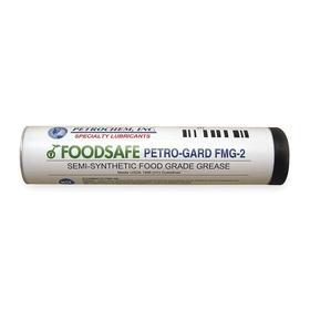 Petrochem Food Grade Multipurpose Grease: 2 NLGI Grade, Aluminum Complex, Semi-Synthetic, 14 oz Container Size, White