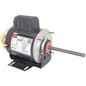 Direct-Drive HVAC Motor: Condenser Fan, 1/2 hp Output Power, 56YZ NEMA Frame Size, Open Air-Over, 230V AC, Single Phase