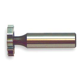 Keyseat Milling Cutter: Carbide, Inch, Staggered Tooth Configuration, Right Hand, 3/4 in Cutter Dia, 1/4 in Cutter Wd