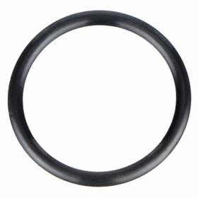 General Purpose Oil-Resistant Buna-N O-Ring: 920 AS568 Dash, Round, Black, 0.118 in Actual Wd, 7/64 in Nominal Wd, 25 PK
