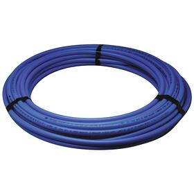PEX Tubing: For Air/Ethylene Glycol/Potable Water/Propylene Glycol, Blue, 100 ft Overall Lg, B, 1/2 PEX Size, 5/8 in OD