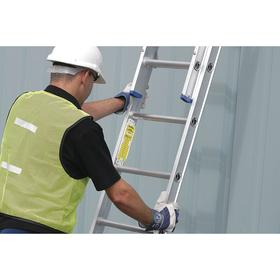 Brady Ladder Tagging System Holder: 8 1/4 in Overall Ht, 2 1/4 in Overall Wd, 10 PK