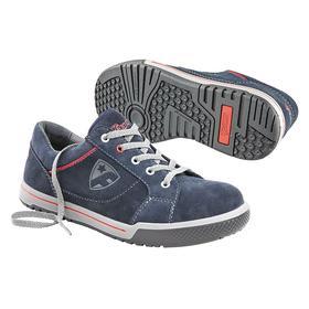Static-Dissipative Athletic-Style Work Shoe: E Shoe Wd, 13 Men's Size, Men, Steel, Synthetic/Nylon, Blue, 1 PR