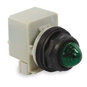 Schneider Electric Pilot Light: 120V AC, Transformer, Yellow, Pressure Plate, AC Current Type, For 6 V DC/6 V AC
